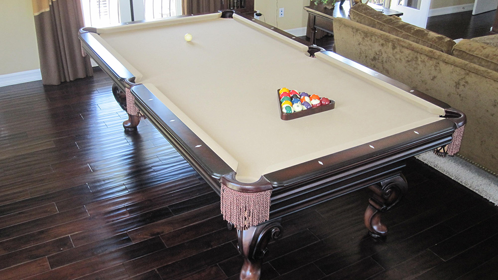 Two pool tables one house dk billiards service orange county ca - Pool table house ...