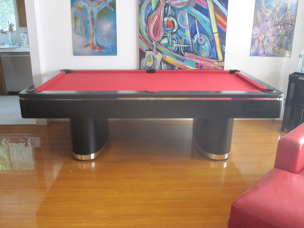 Olhausen Pool Table Makeover - Pool Table Service ...