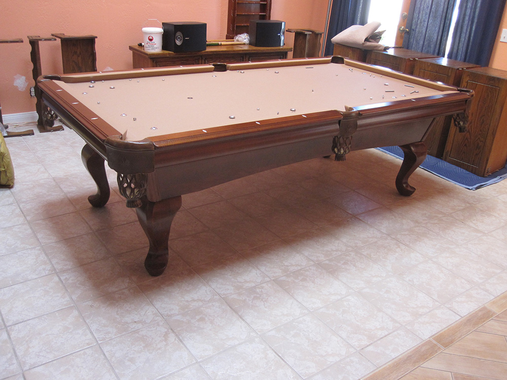 100 replacing pool table cushions golden west