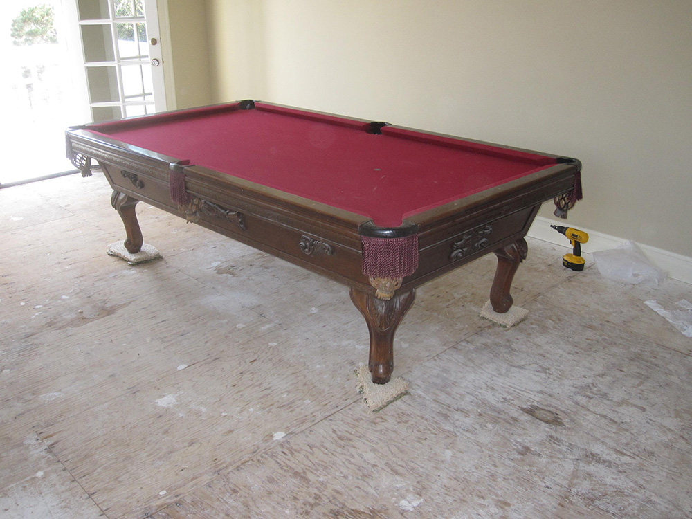 Pool Table Comes To Life Pool Table Service Amp Billiard