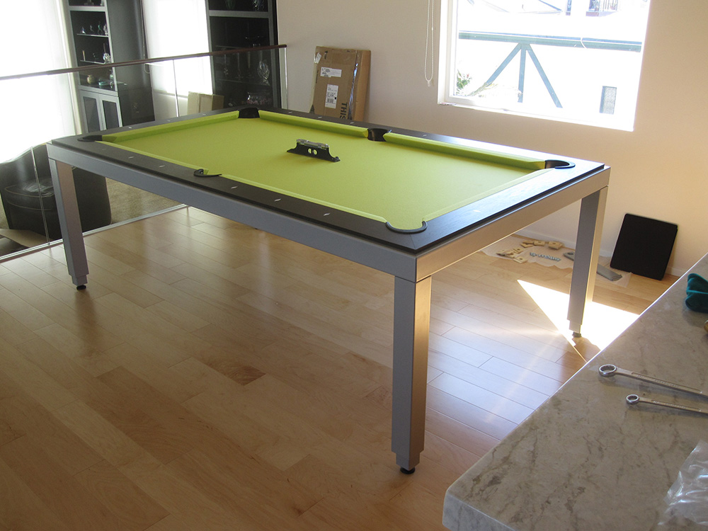 Aramith Fusion Table With A Lime Twist   DK Billiards U0026 Service Orange  County, CA