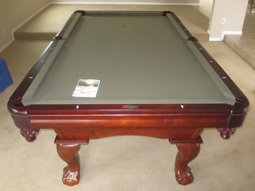 Finding Space For A Pool Table