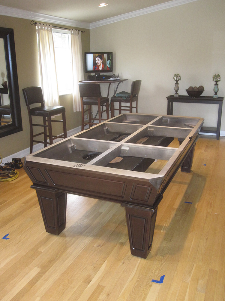 How To Make Room For A Pool Table In Your Home   DK Billiards Pool Table  Sales U0026 Service