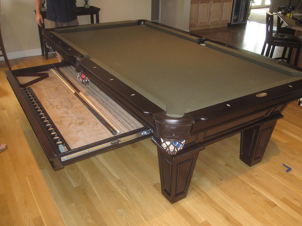 how to make room for a pool table in your home - How To Make A Pool Table
