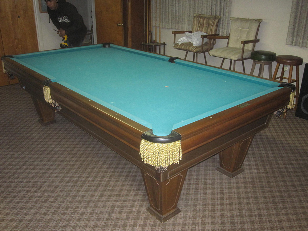 Brunswick U201cHeirloomu201d Stays In Family. By Pool Table ...
