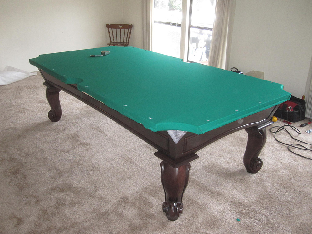 Here Is Another Beautiful, Well Built, American Made Connelly Pool Table We  Delivered To Our Clientu0027s Double Wide Mobile Home In Anaheim, CA.