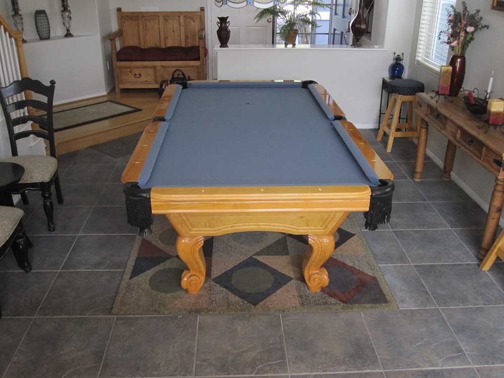 Page Pool Table Movers Repair DK Billiards - First pool table
