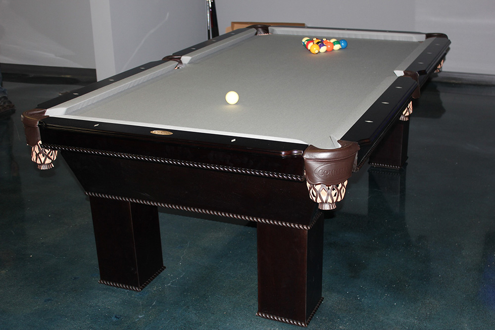 This Eight Foot Connelly Ventana Pool Table We Recently Delivered And  Installed To The Leading Edge Company In Costa Mesa, CA.