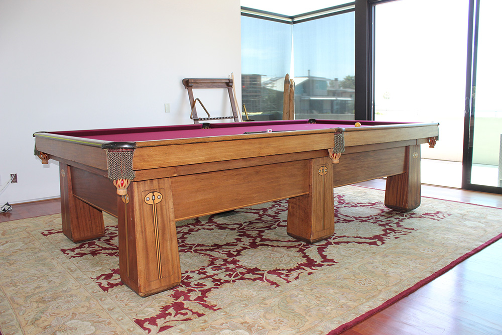 From Topeka to Laguna with Love – DK Billiards Pool Table