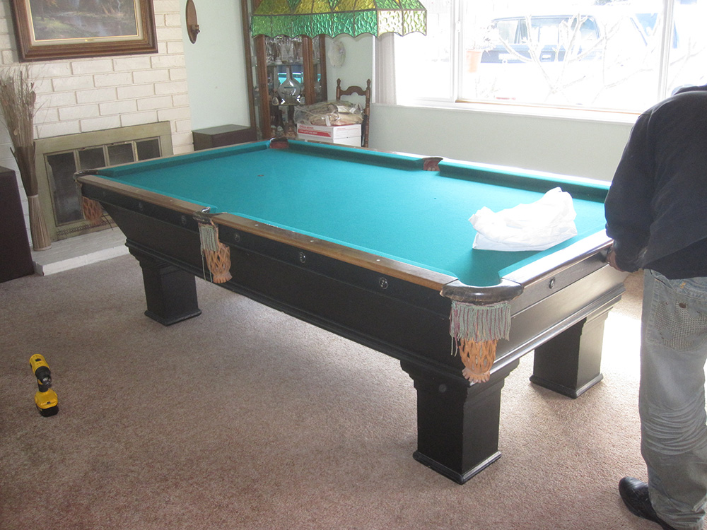 How to disassemble a brunswick balke collender dk for Brunswick pool tables