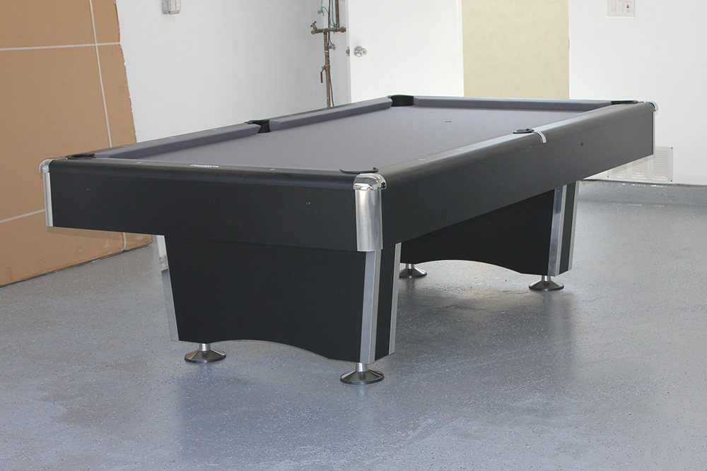 Parking Your Pool Table In The Garage