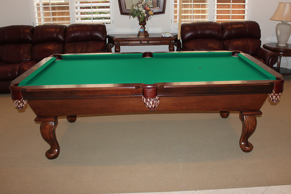What is a standard size pool table pool table service - 8 foot pool table dimensions ...