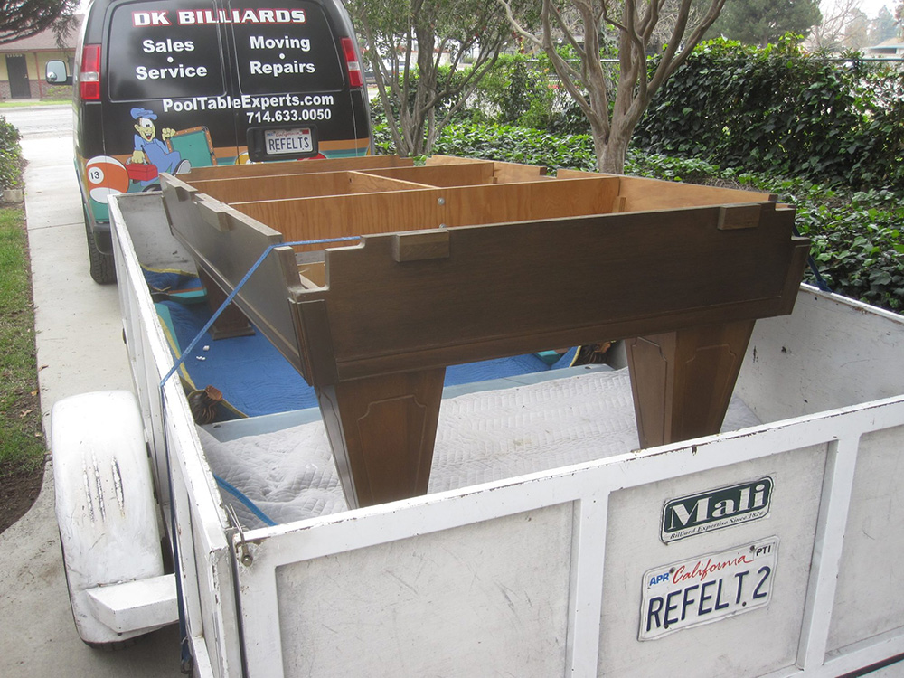 Pool Table Moving In Southern CA