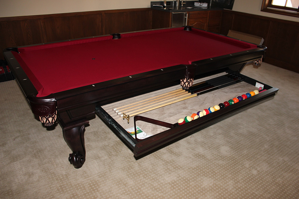 Cool Pool Table Accessories Connelly pool tables dk billiards pool ...
