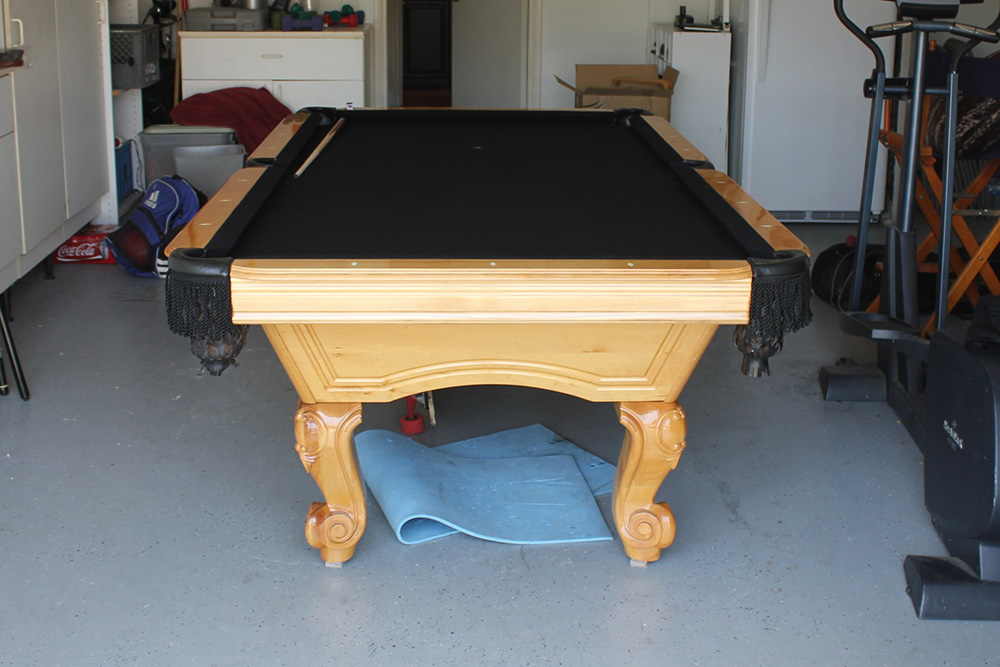 Can You Install A Pool Table In A Garage?