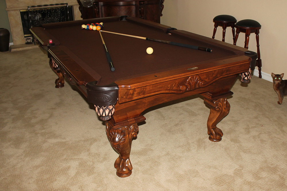 Custom Pool Tables By Connelly Pool Table Service
