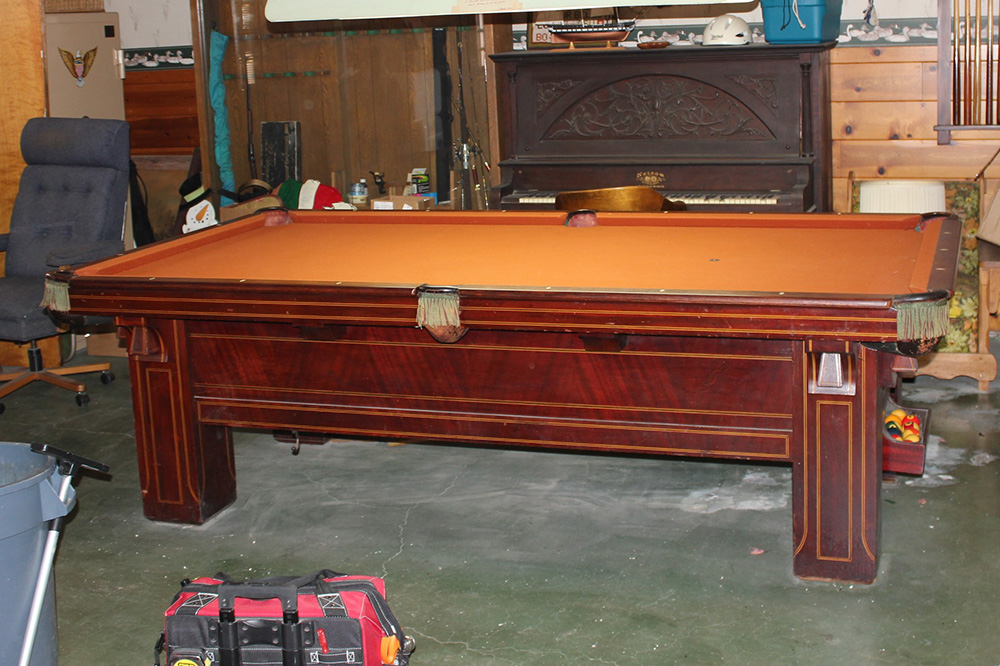 how to make a pound billiard table disappear - How To Make A Pool Table