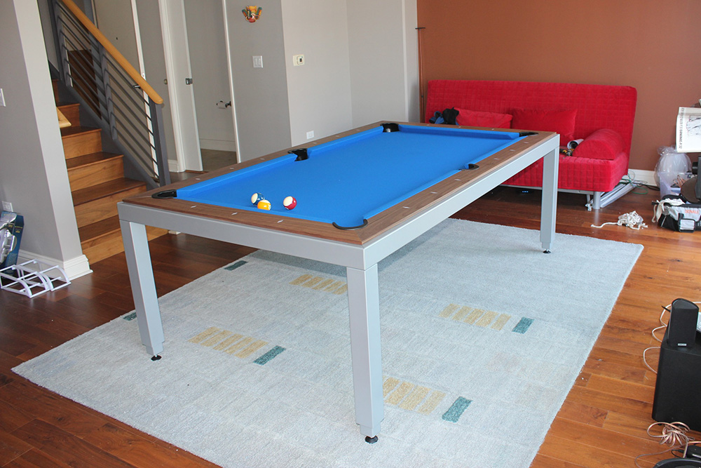 Pool Table Or Dining Table It S Both DK Billiards Pool Table