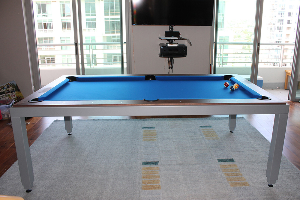 Pool Table Repair Service : Pool table or dining it s both