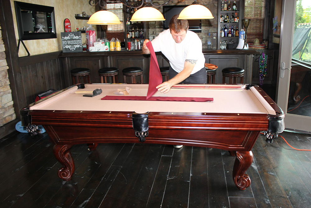 making your pool table look like new againu2026