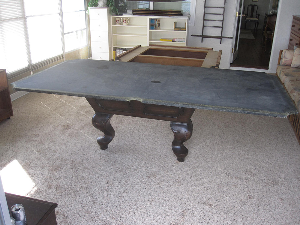 One piece slate vs three piece slate dk billiards service orange county ca - Billiard table vs pool table ...