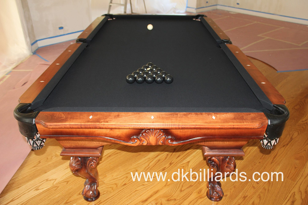 All Black Pool Table - Home Design Ideas and Pictures