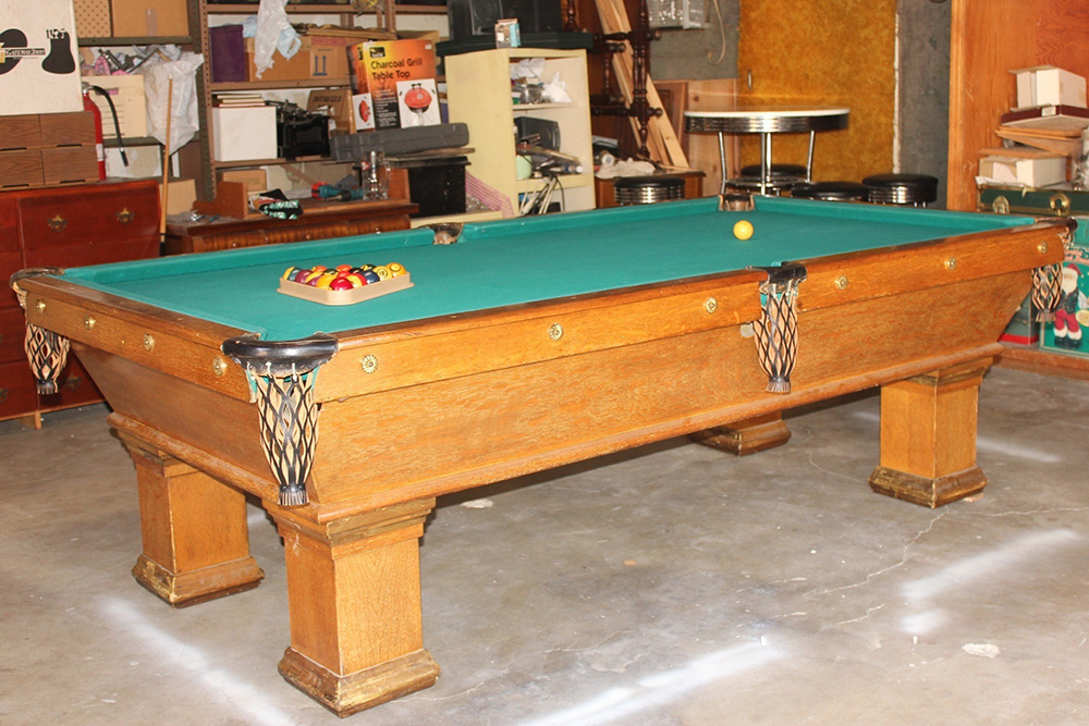 Pool table now new used billiard pool tables mover refelt for Brunswick pool tables