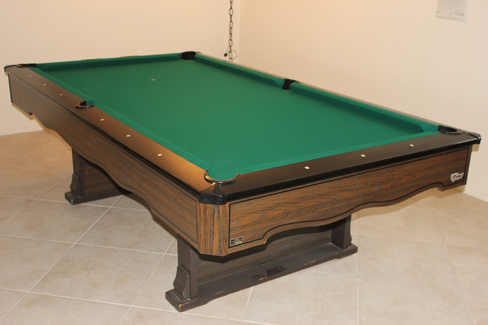 Marble top fischer pool table dk billiards service orange county ca - Photos of pool tables ...