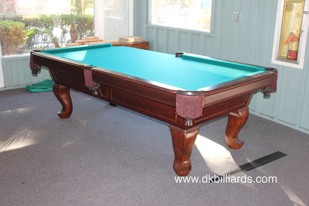 Pool Table Room Colors