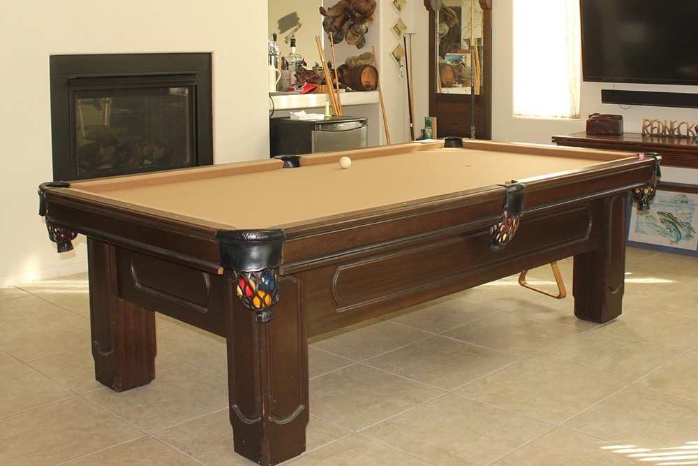 Hunting for a Pool Table