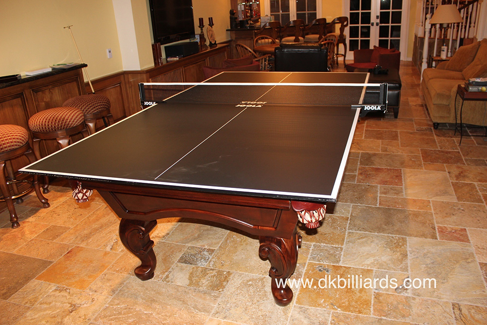 Pool Table with Dining Top and Ping Pong  DK Billiards Pool Table Sales &amp -> Table Billard Fabrication Ikea