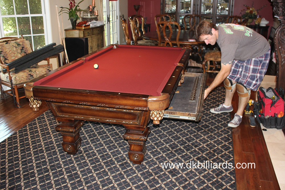 Accessory Drawer Pool Table Dk Billiards Amp Service