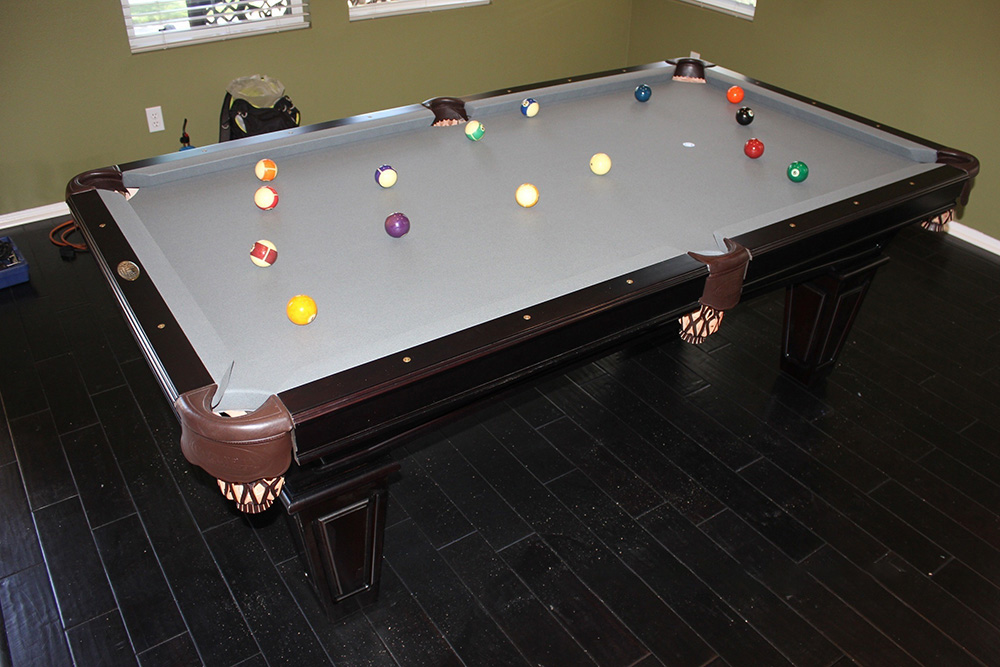 Custom Bullet Rail Sights. Unique Addition To Pool Table ...