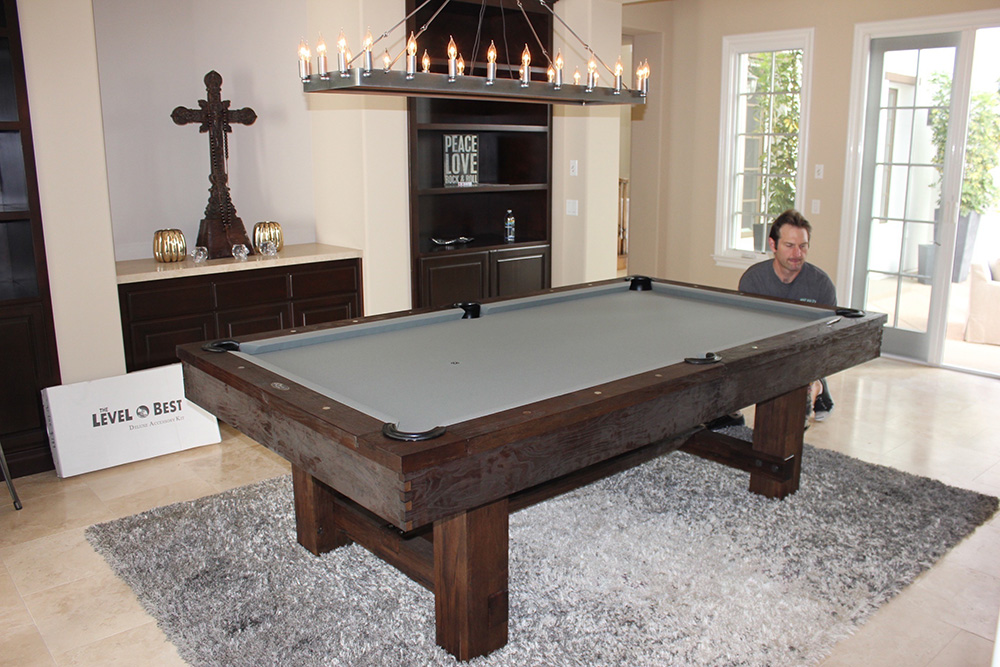 8u0027 Brunswick Merrimack Pool Table In A Nutmeg Finish With Slate Grey  Simonis Cloth | Some Of Our Installations | Pinterest | Pool Table And Slate