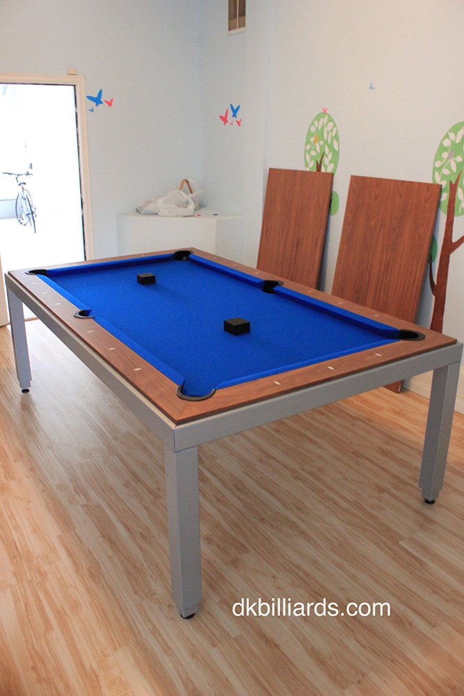 Modern-style Pool Table with Dining Top