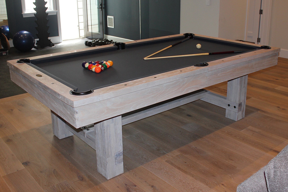 Placing A Pool Table On Rug Dk Billiards Service Orange