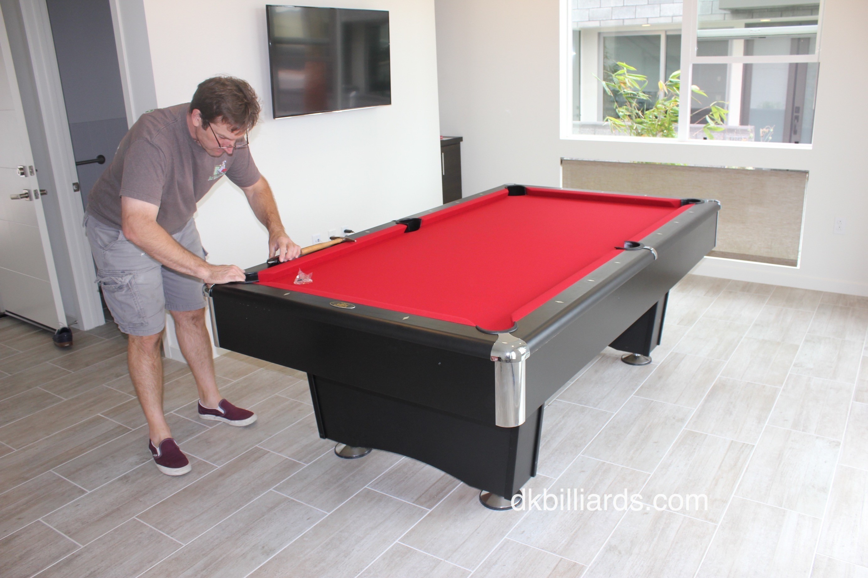 ... To Support The Three Piece, One Inch Slate. K 66 Cushions Give Amazing  Bounce. Surprisingly, The Blackhawk Is One Of The Most Affordable Pool  Tables ...