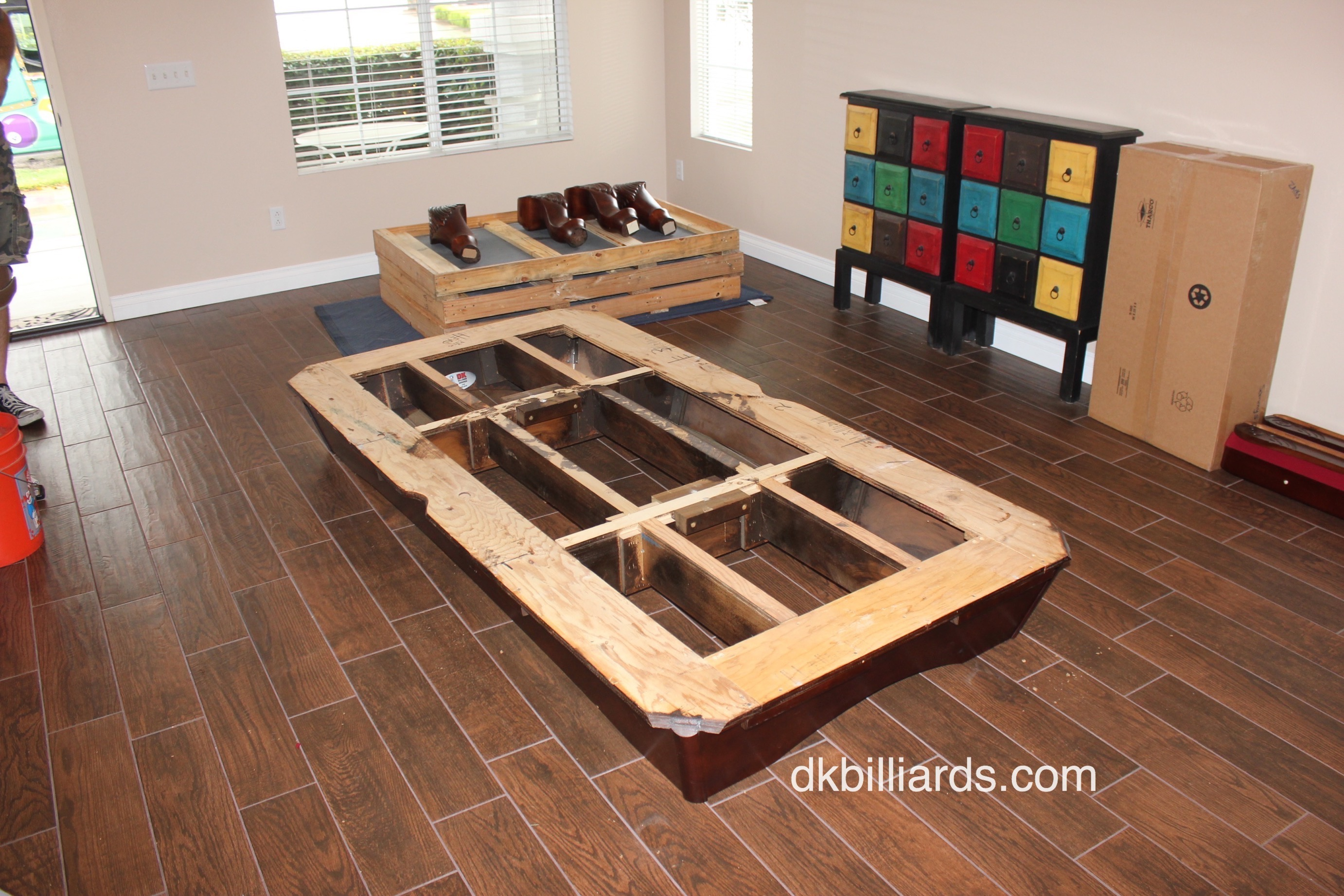 Setting Up A Pool Table Pool Table Movers And Repair Dk Billiards Pool Table Moving Repair