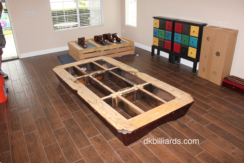 Pool Table Disassembly Or Set Up ($200 300 Average)