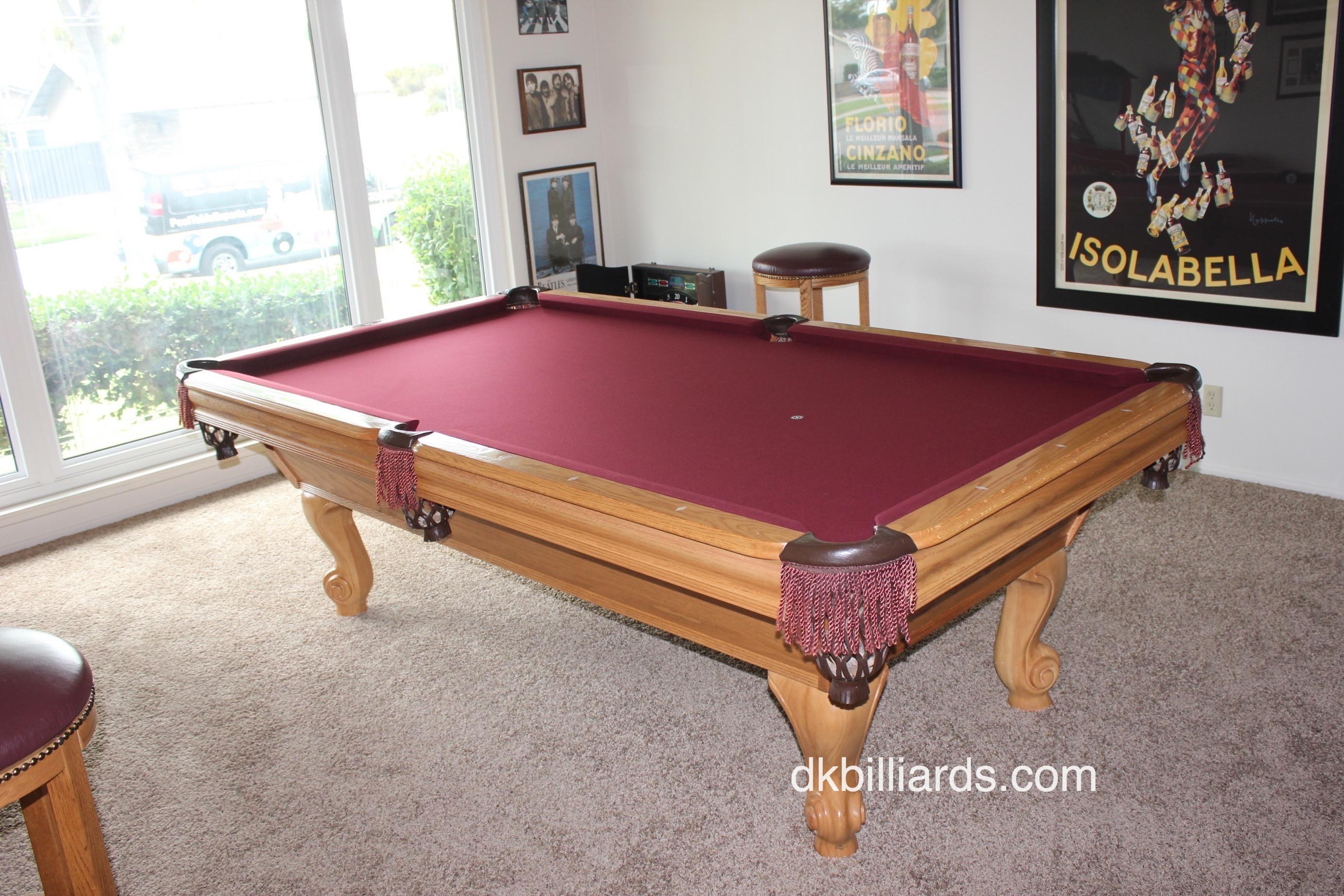 Pool Table Repair Service : Getting stretched out pool table service billiard
