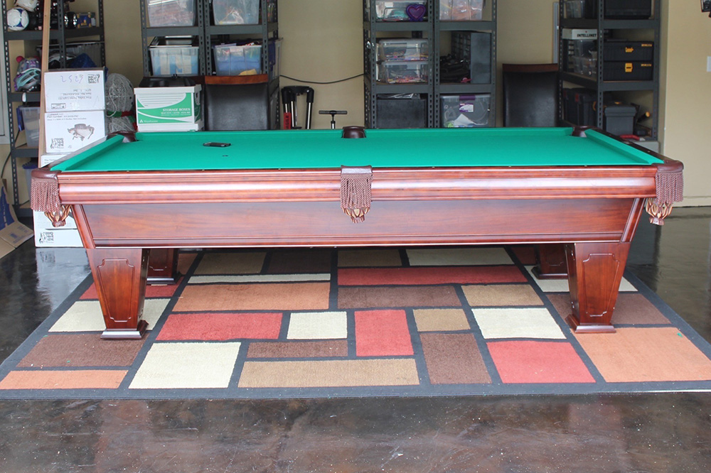 Moving A Pool Table Downstairs