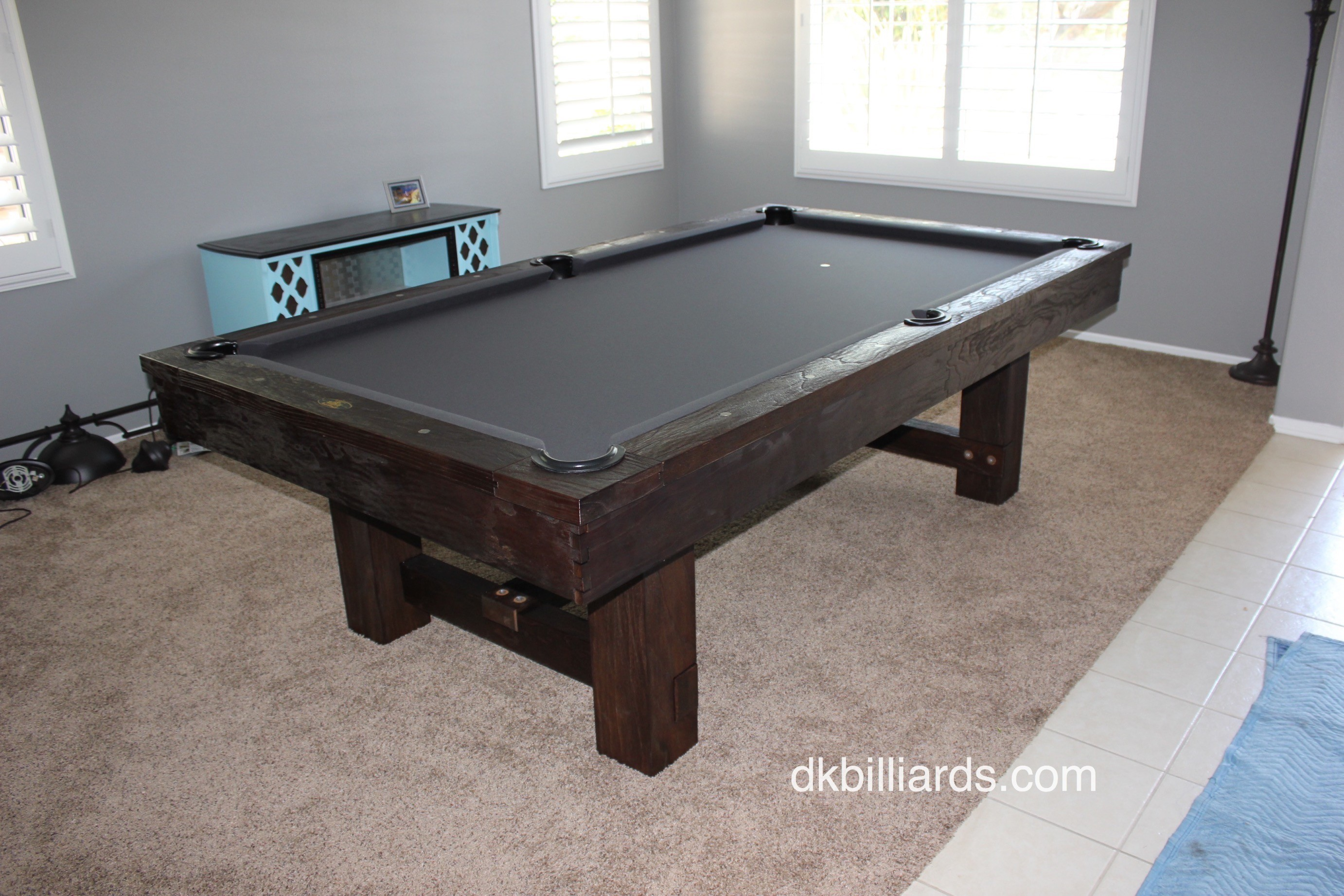 Pottery Barn Style Rustic Pool Table Pool Table Service