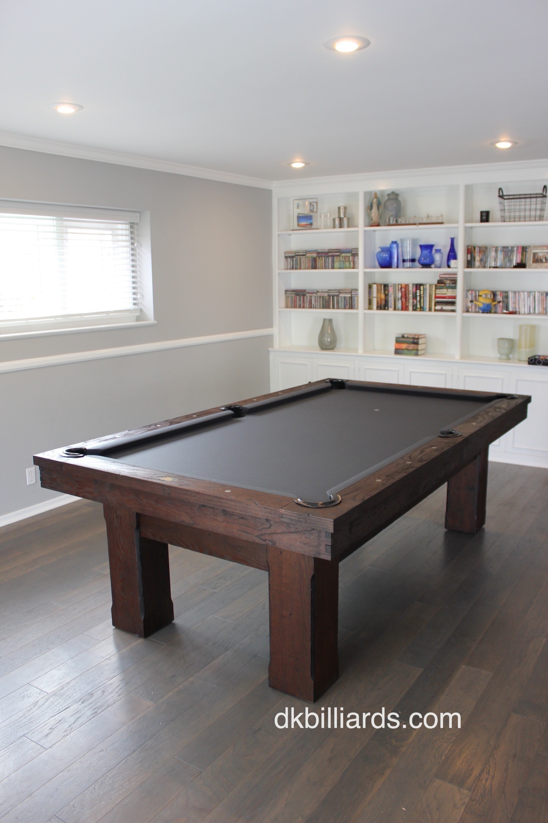 Floral Park Rustic Pool Table