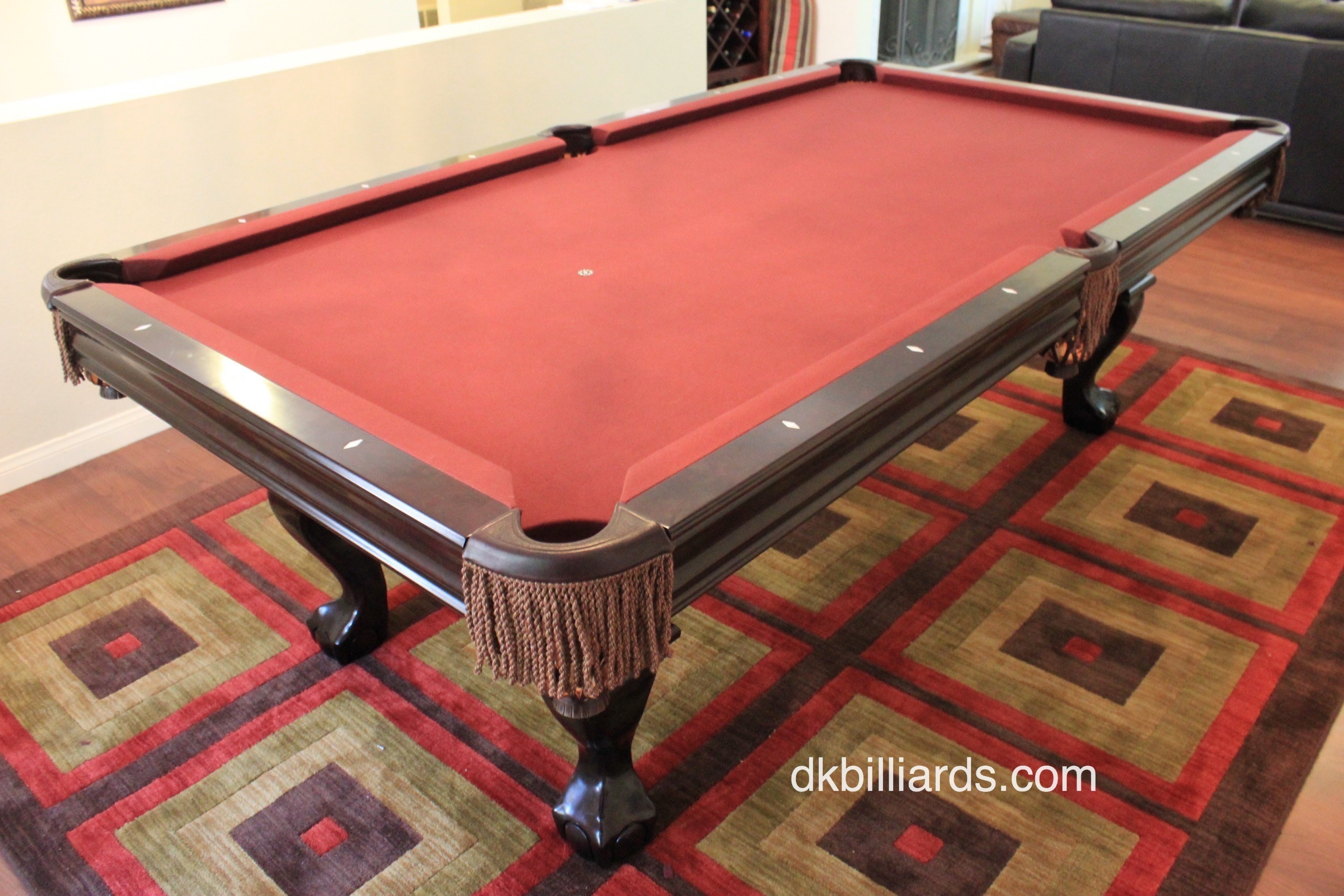 Brunswick Contender Setup. By Pool Table ...
