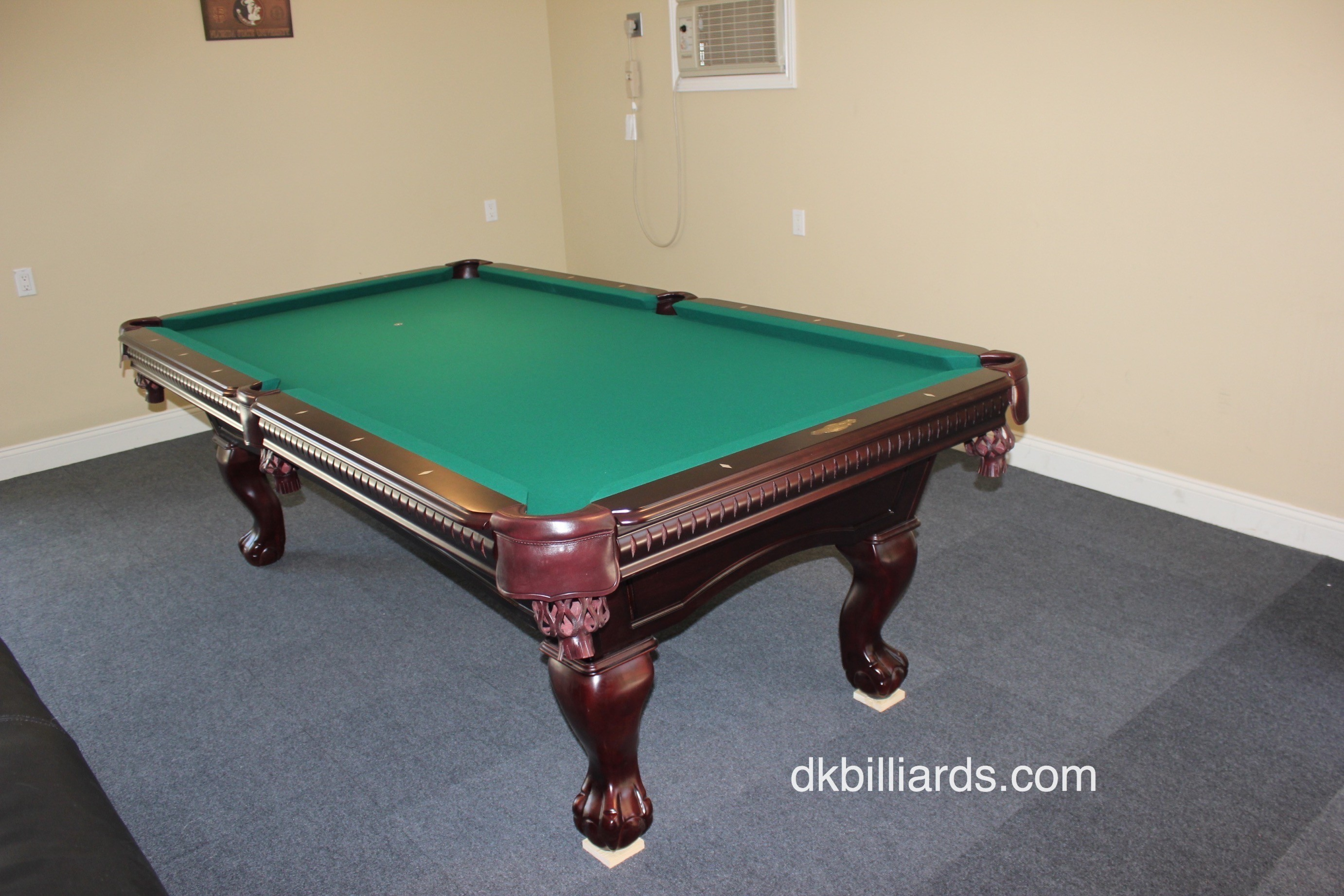 Elegant Gameroom Hideaway. By Pool Table ...