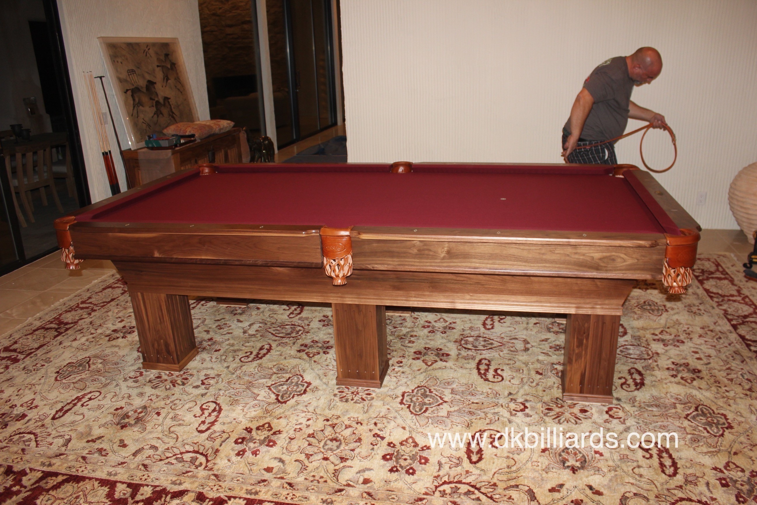 Connelly Ultimate Six Leg Pool Table Pool Table Service