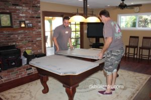Carry Pool Table Slate