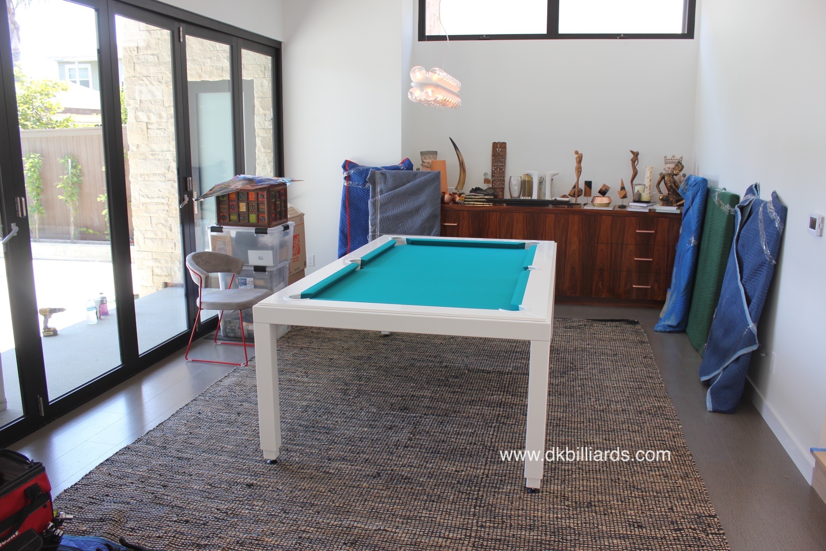 White Hot Pool Table