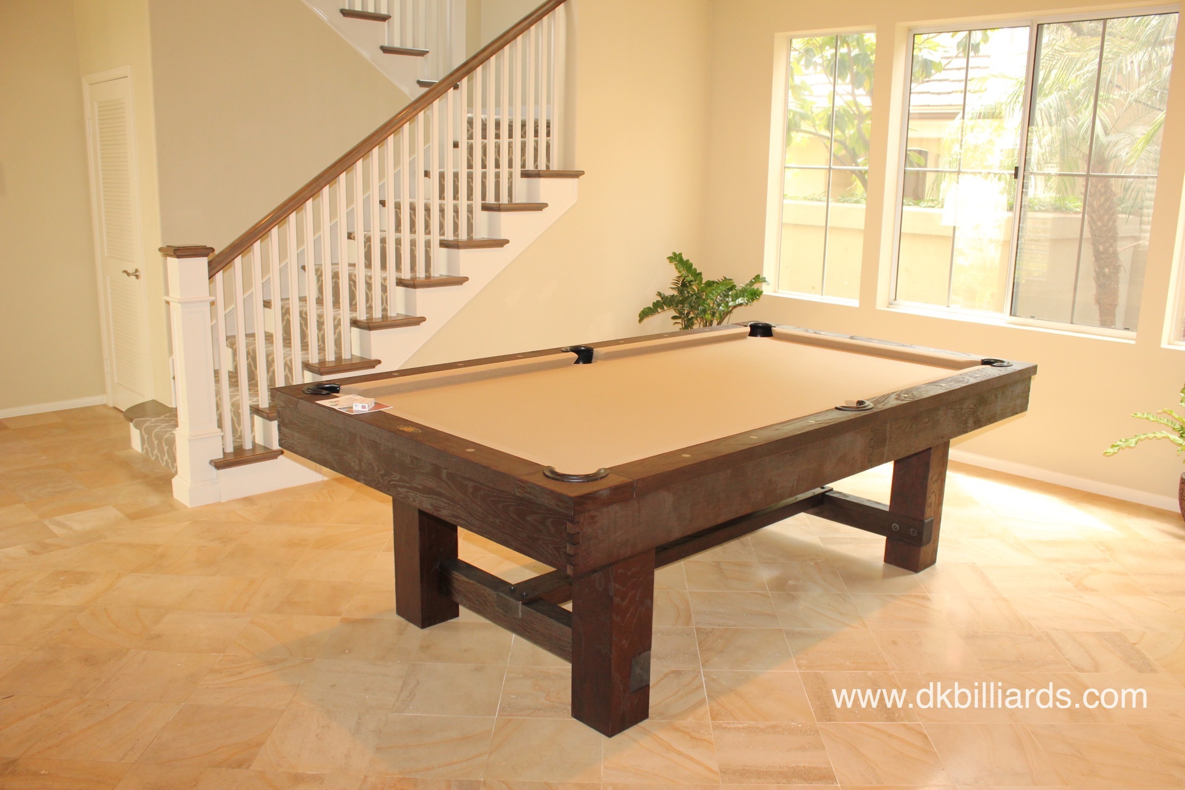 How To Move A Slate Pool Table Across The Room