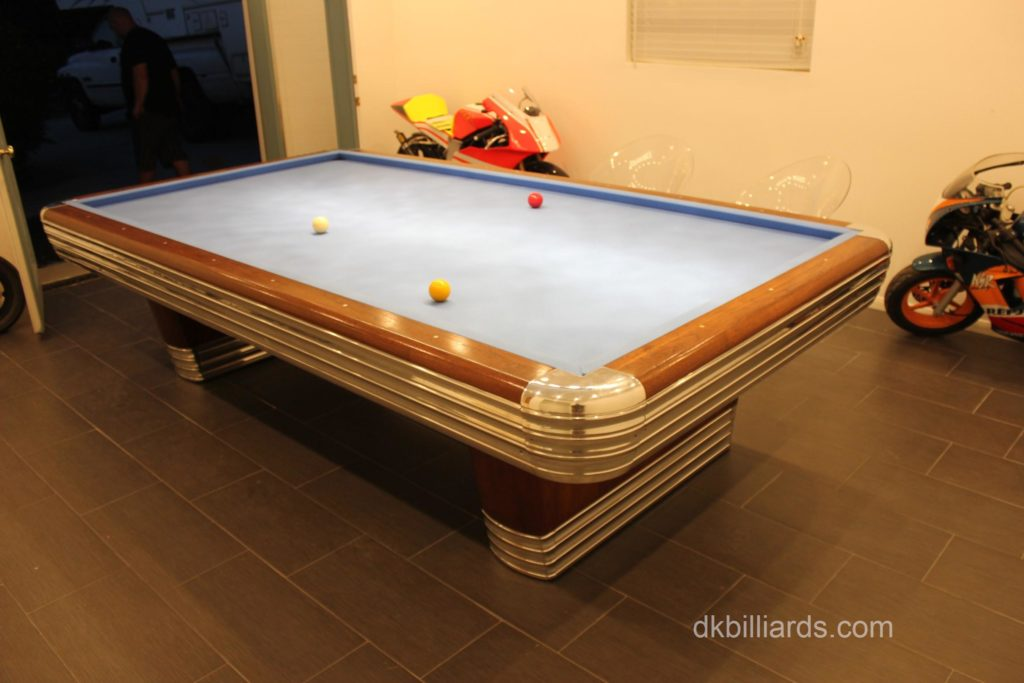 Brunswick Centennial Carom Table Pool Table Service